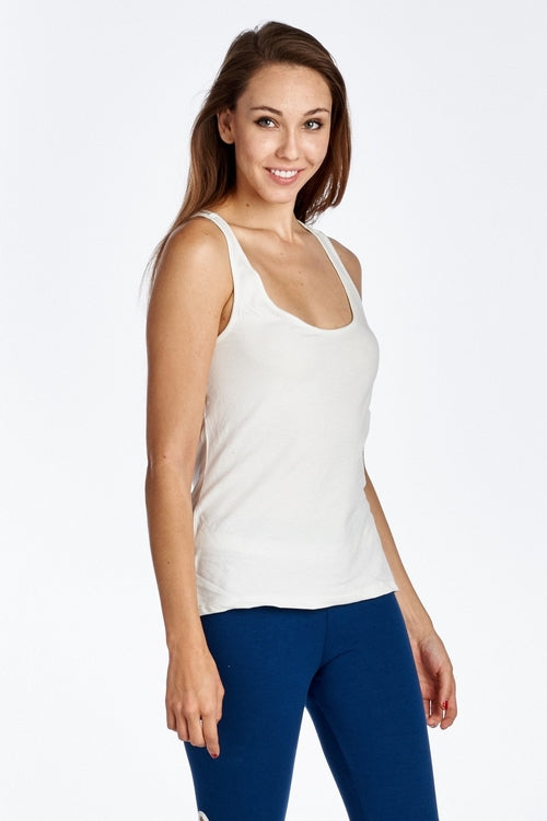 Women's Fitted Active Top with Back - Rosemary's Fitness Store