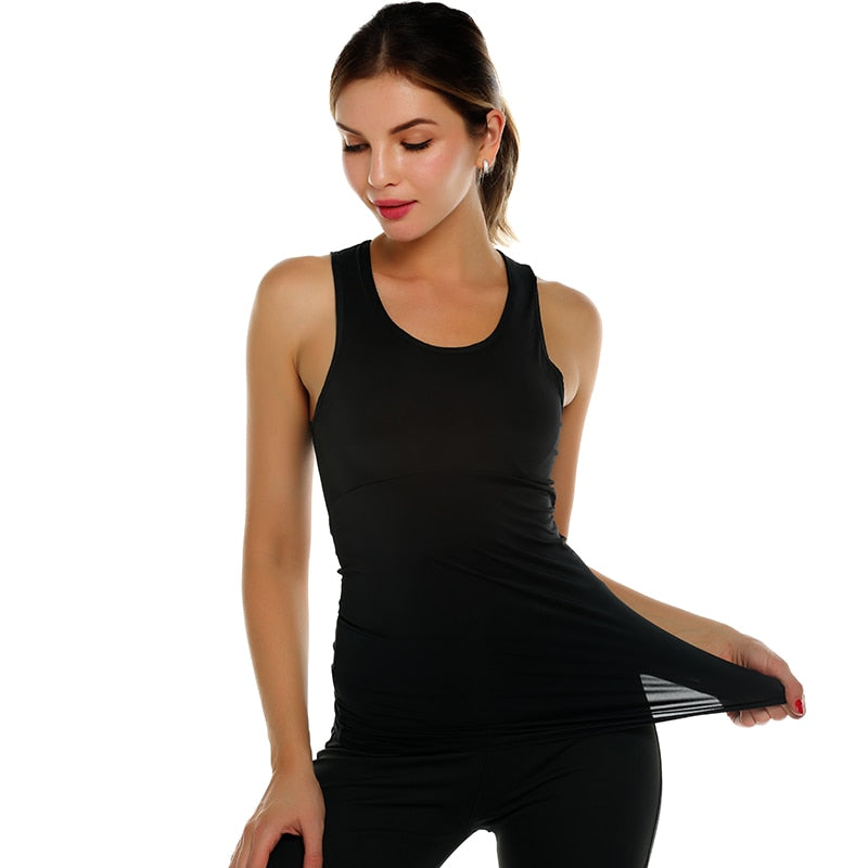 Women Quick Dry Yoga Shirt Tops - Rosemary's Fitness Store