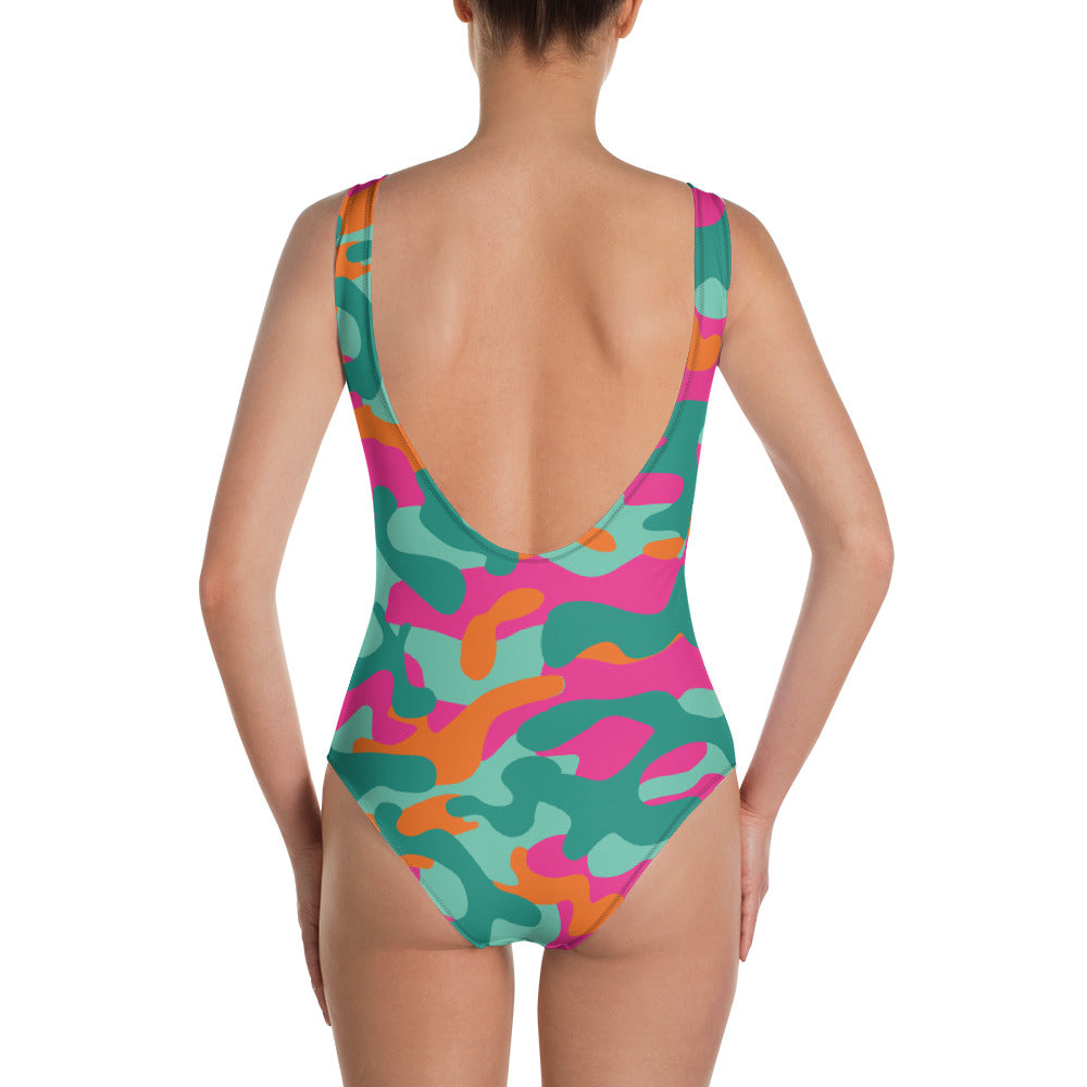 Camouflage Swimsuit - Rosemary's Fitness Store