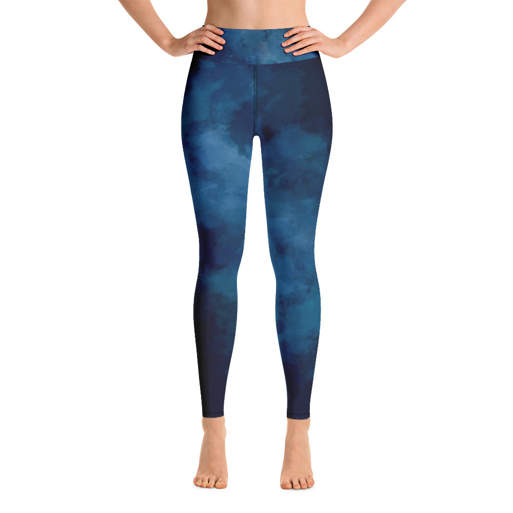 Dark blue  Yoga Leggings | yoga pants | Leggings | Activewear Leggings