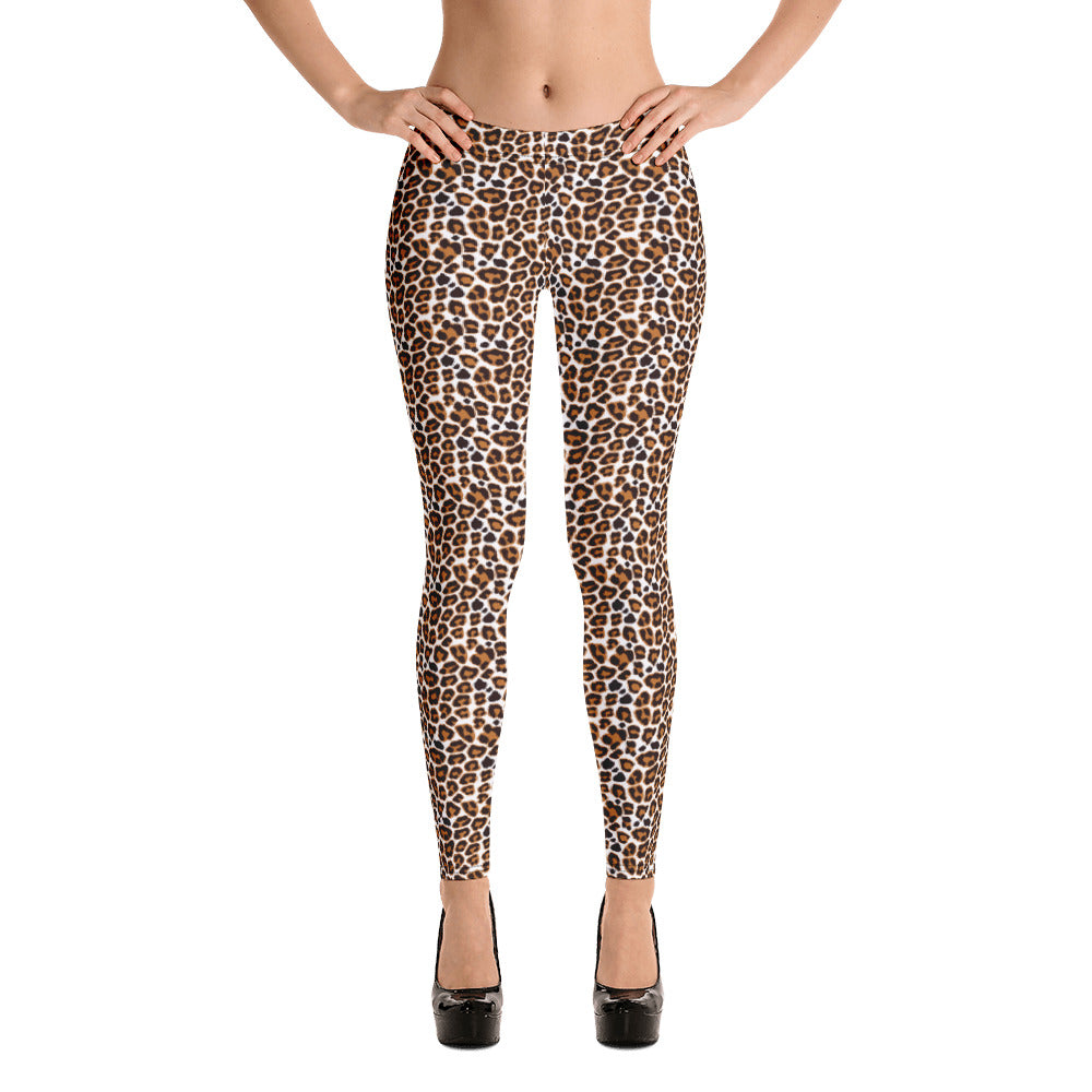 Leopard Leggings | Sports Leggings | Elastic Leggings | Yoga Leggings