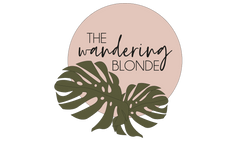 The Wandering Blonde Shop Logo