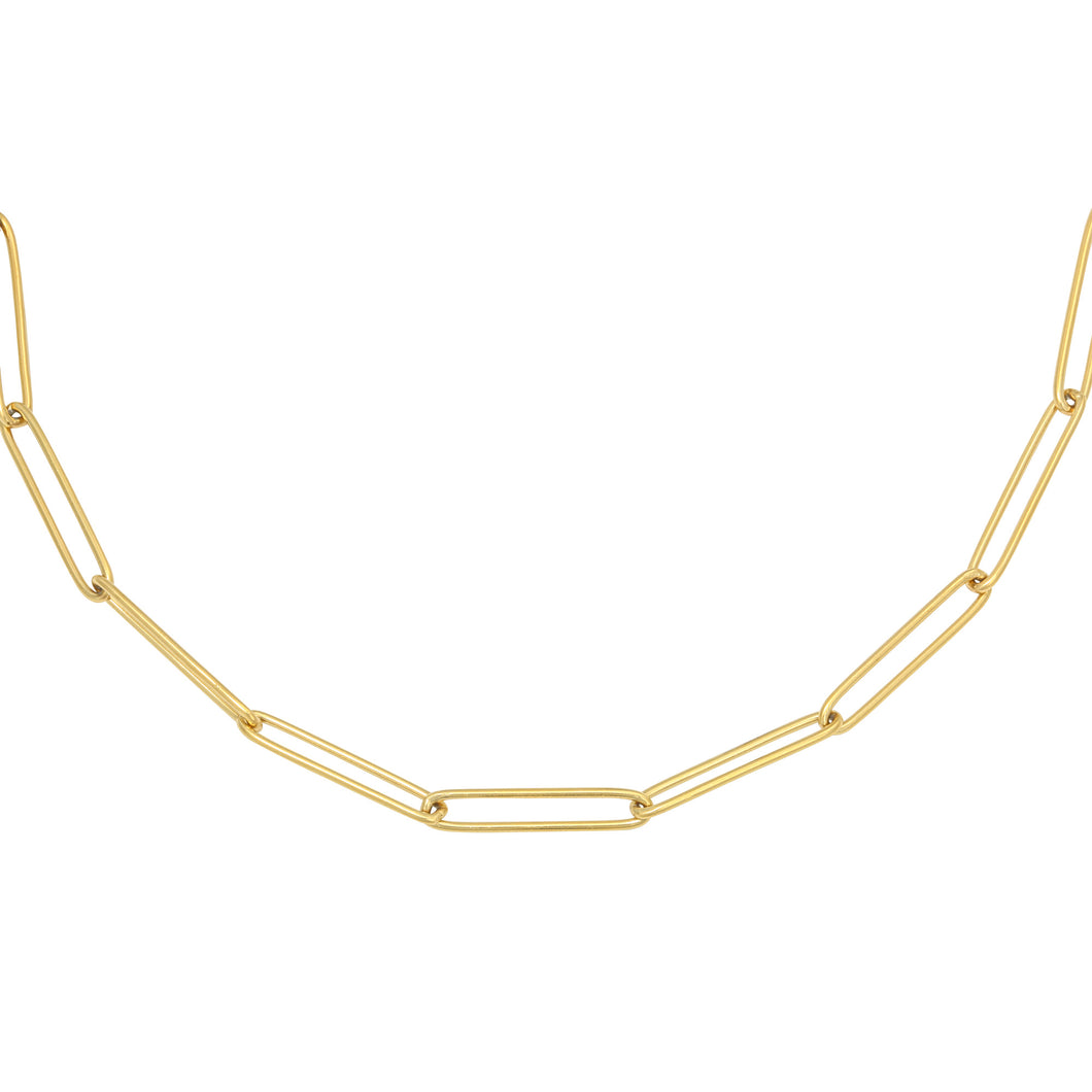Kette 'Plain Chain' | Gold