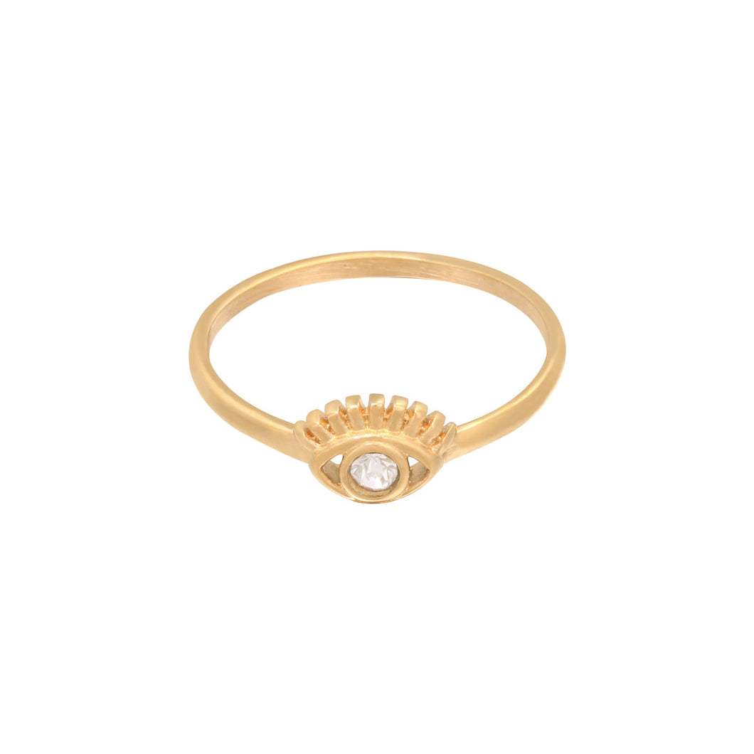 Ring 'Tiny Eye' | Gold