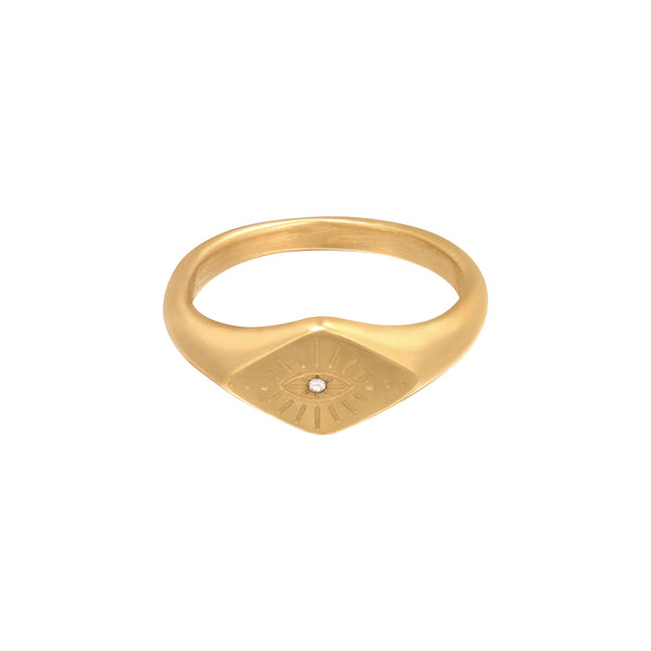 Ring 'Evil Eye' | Gold