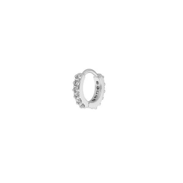 Ohrring 'Circle Mini' | Silber