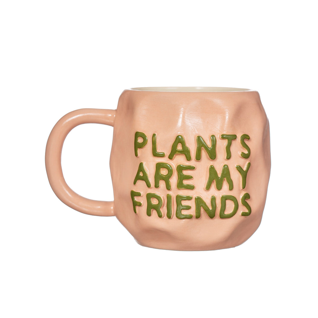 Tasse 'Plant Friends' | Rosa