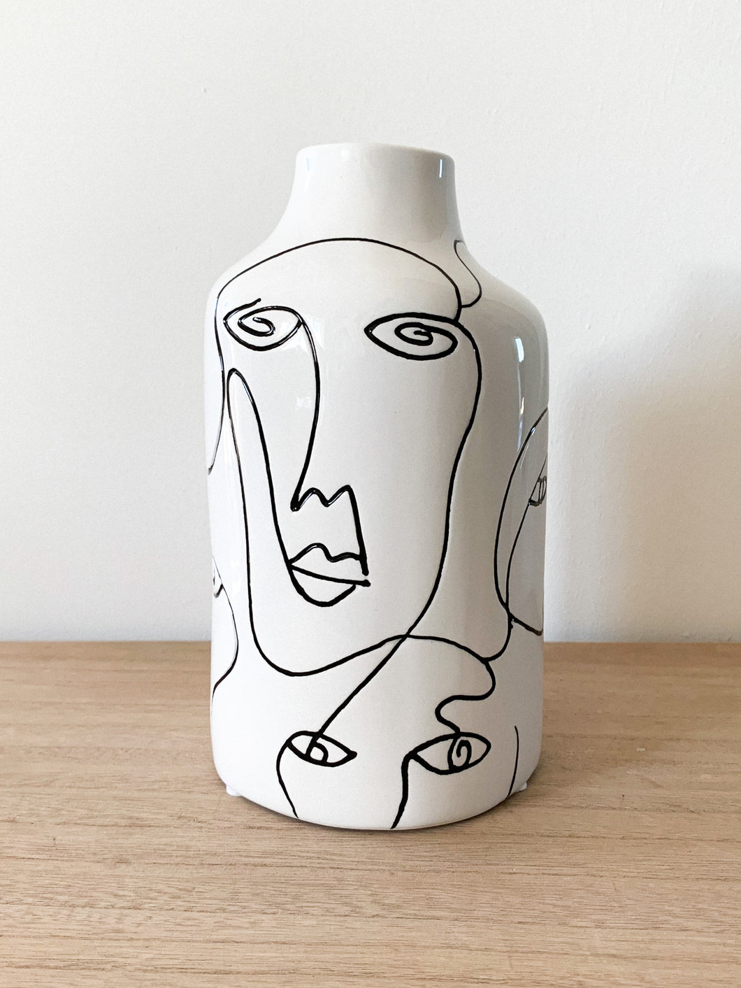 Vase 'Multi Faces' | Weiß