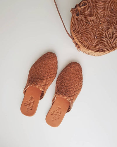 Bali Woven Mules by thewanderingblonde