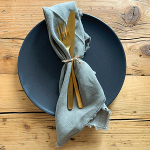 Serviette 'Washed Linen' | Olive