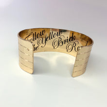Load image into Gallery viewer, Gold Brick Road Cuff