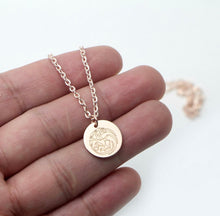 Load image into Gallery viewer, Rose Gold Targaryen Necklace