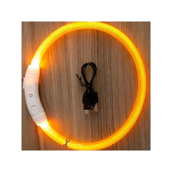 Collier LED rechargeable USB