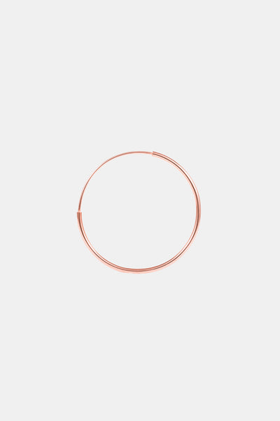 Rose gold plated minimalistic bracelet made in Germany