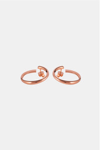 SWELL Earrings, rose gold