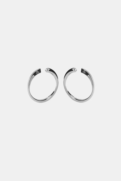 WAVE Earcuff, white gold