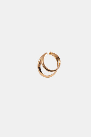 WHIRL Earcuff, yellow gold