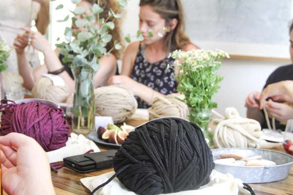 Crochet Party, Friday 9/11