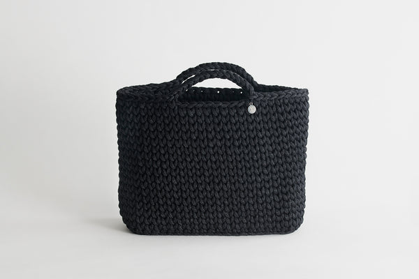 Handmade Black Basket