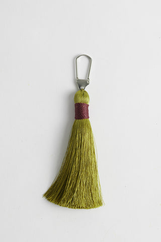 Tassel Charm Light Green
