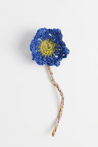 Flower Charm Royal Blue