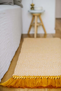 Salmon Bedside Rug - LAST ONE