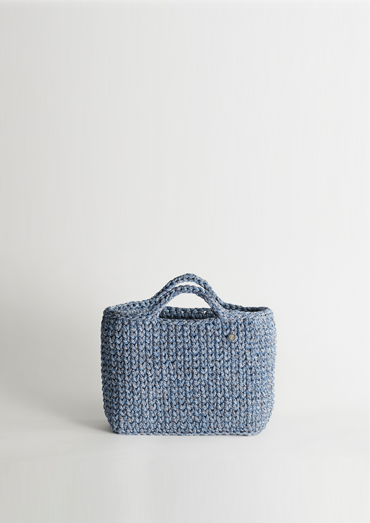 Crochet Kit Contemporary Basket Bag DIY