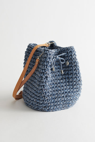 Crochet Kit Blue Jeans Bucket Bag Do it Yourself