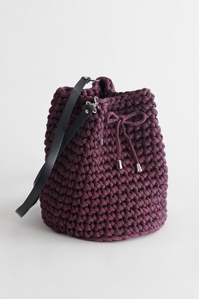 Handmade Wine Bucket Bag