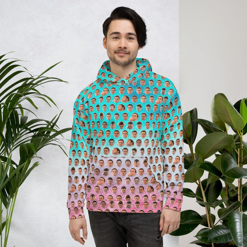 Pepe's Heads Multicolor Hoodie - chess24