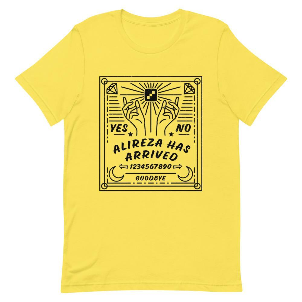Alireza Has Arrived - Ouija Board Unisex T-Shirt - chess24