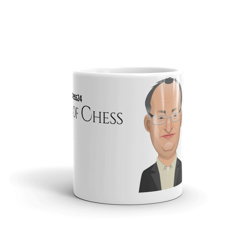 chess24 Legends of Chess - Boris Gelfand Mug - chess24
