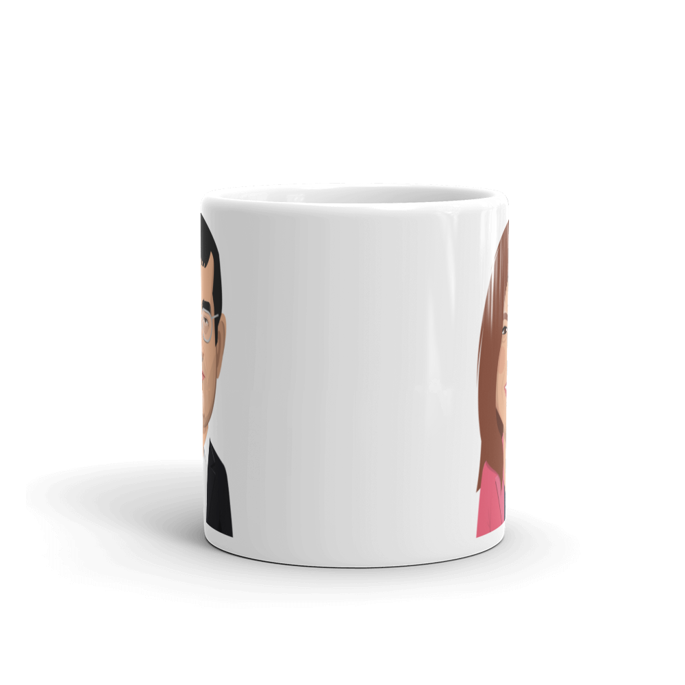 Limited to 100 - Kramnik and Judit Mug - chess24