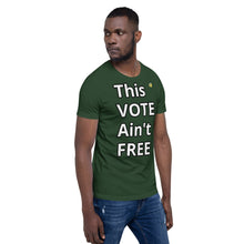 "Unisex ""Ain't Free"" T-shirt-Normal Brandz"