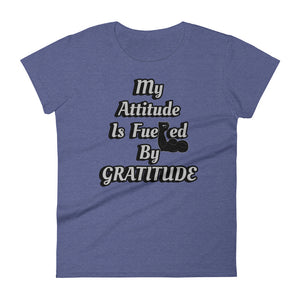 """Gratitude"" Women's T-shirt-Normal Brandz"