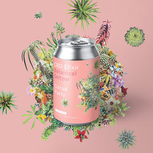 Marz CBD Seltzer: Citrus Party