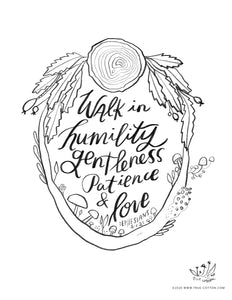 Digital Download // Hello Hope Coloring Pages // VOL. 2 // Truth