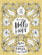 Load image into Gallery viewer, True Cotton Hello Hope Coloring book