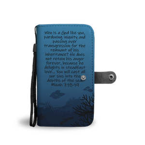 Sins Cast Into the Depths of the Sea - Wallet Phone Case