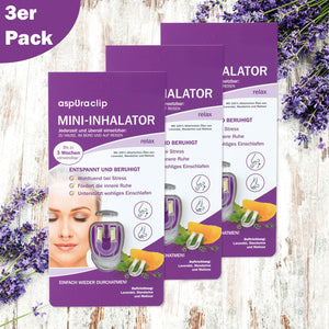 aspUraclip® Mini-Inhalator relax