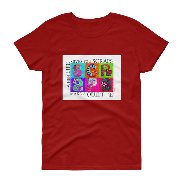 Episode 6 - The Red Work Chill Quilt Women's short sleeve t-shirt