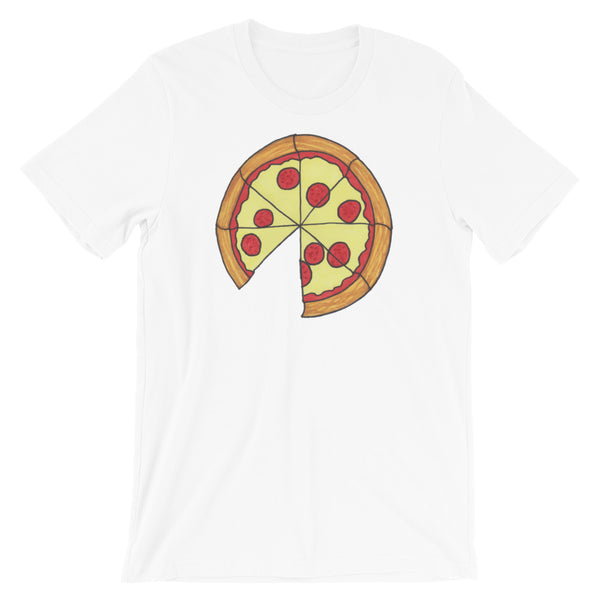Pizza Short-Sleeve Unisex T-Shirt