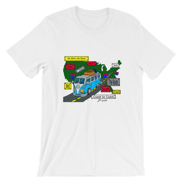 Episode 9 - Road Trip Signs Short-Sleeve Unisex T-Shirt