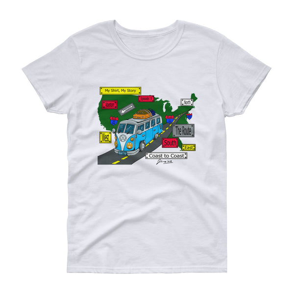 Episode 9 - Road Trip Signs Women's short sleeve t-shirt