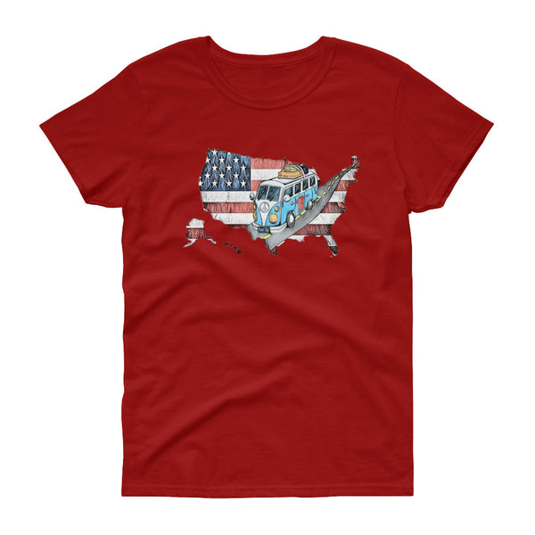 Episode 9 - Road Trip Women's short sleeve t-shirt