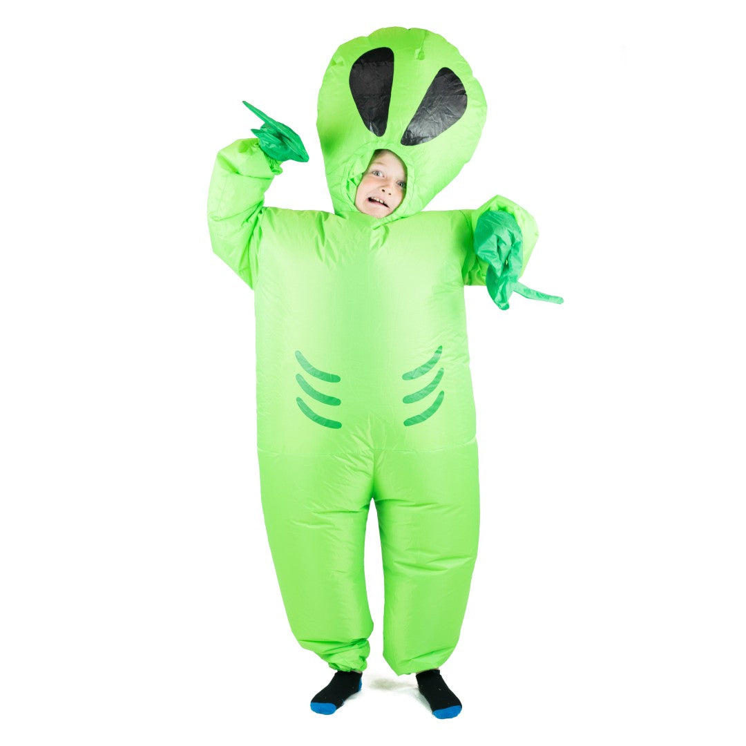 Kids Inflatable Alien Costume
