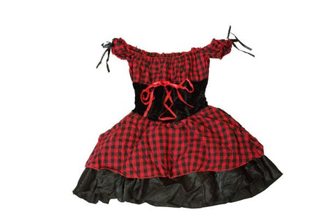 Women's Red Pirate Costume