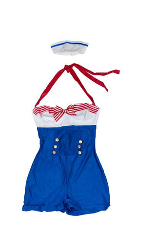 Women's Retro Sailor Costume