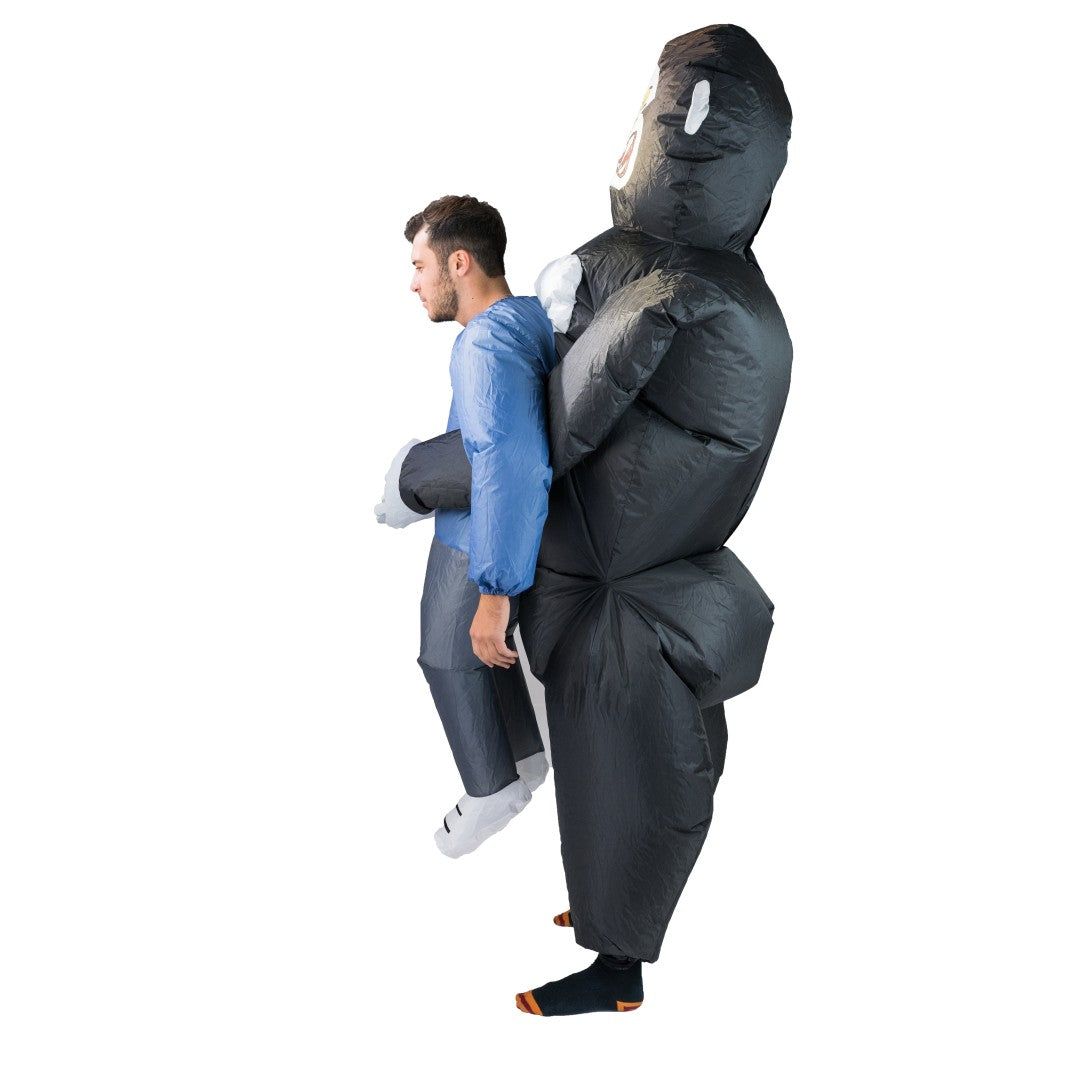 Inflatable Lift You Up Gorilla King Costume