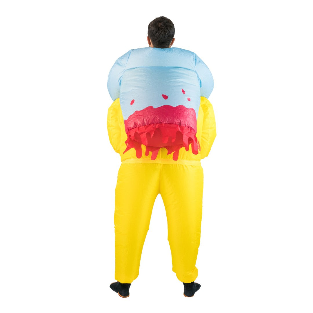 Inflatable Biohazard Costume